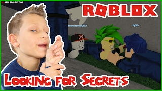 Looking for Secrets / Roblox Prison Life