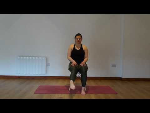 Yoga Osteo Seated Ankle Stretch