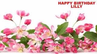 Lilly - flowers - Happy Birthday