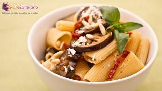 Pasta Salad With Eggplant And Sun-dried Tomatoes - Quick Recipe
