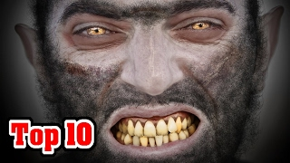 Top 10 Facts about Lycanthropy and Werewolves
