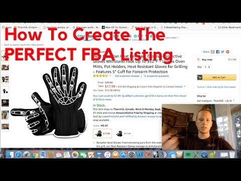 How To Create The PERFECT Amazon Listing & Optimize It To Make 10,000$/Month