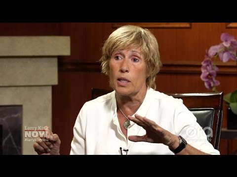 Diana Nyad on coming out, same-sex marriage, and victim-blaming | Larry King Now | Ora.TV