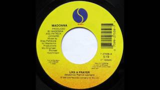 "Like A Prayer (7"" Version) - Madonna"