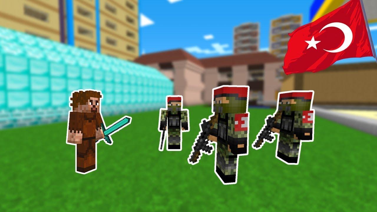 FAKİR ŞEHRE TÜRK ORDUSU TOPLUYOR! 😱 - Minecraft