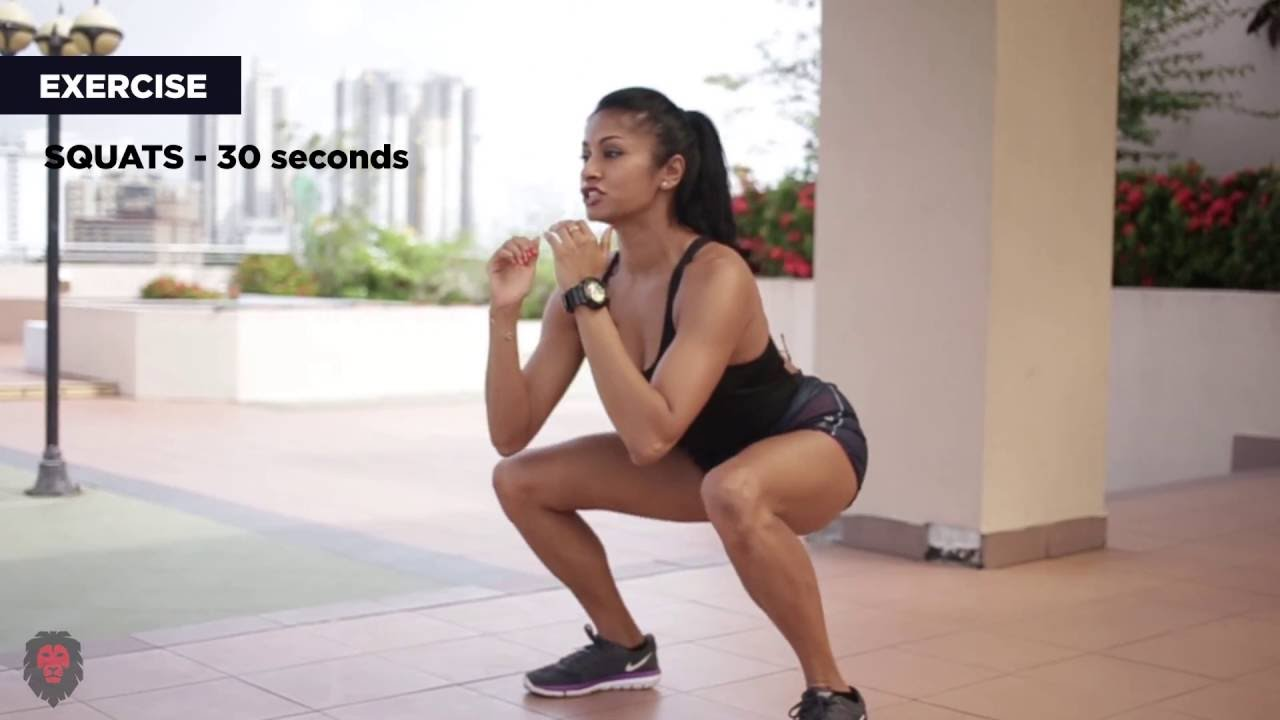 Home workout with Tanuja Perera (HD)