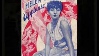 """Helen Morgan """"What Wouldn't I do For that Man"""" (1929)"""