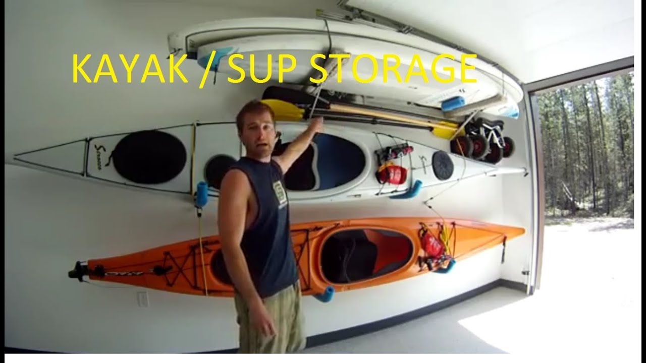 Delicieux Ultimate DIY Kayak / SUP Storage System *****   YouTube