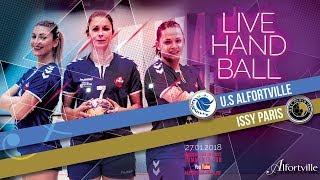 HANDBALL NF1 ★ US ALFORTVILLE vs. ISSY PARIS HAND ★ 11e journée - 27/01/18