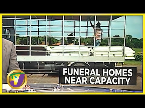 Jamaican Funeral Home Bursting at the Seams with Covid Bodies | TVJ News - August 31 2021
