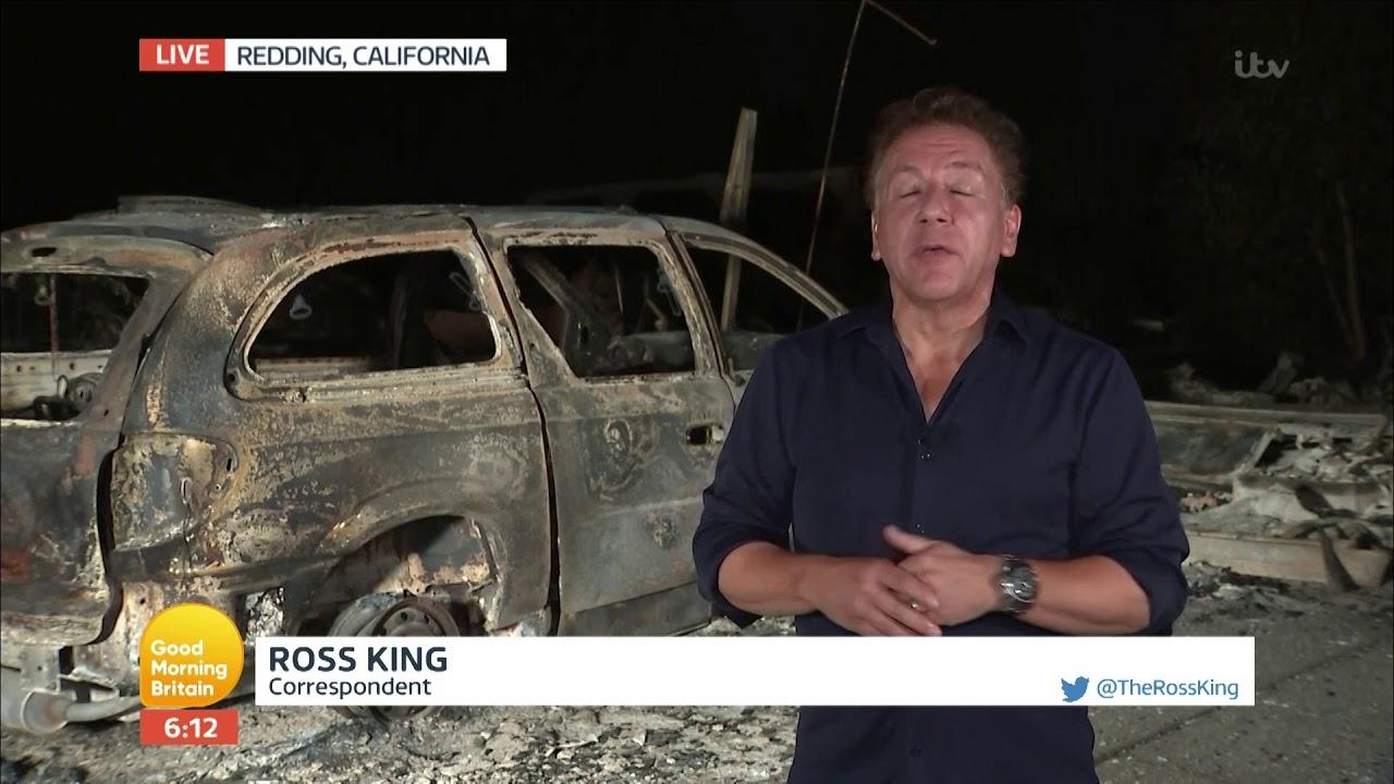 California Wildfires | Good Morning Britain