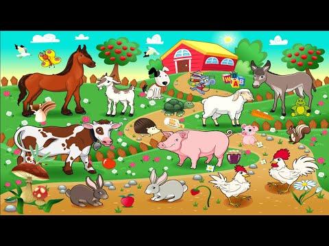Учим слова! Домашние животные для детей от 1 года
