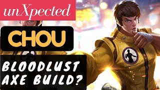 Bloodlust Axe Build [Rank 2 Chou] | Chou Gameplay and Build By…