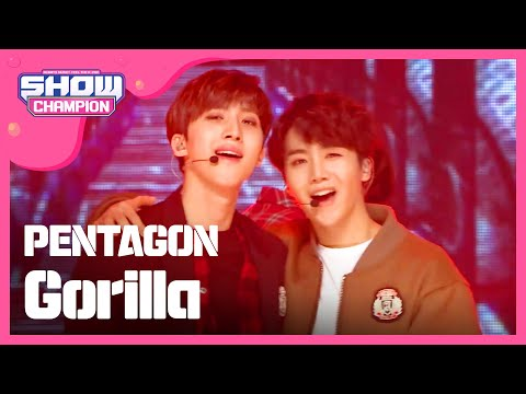 Show Champion EP.206 PENTAGON - Gorilla