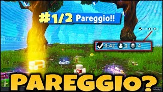 Is it possible to PAREGGIATE ON FORTNITE ? WE HAVE PROOF! FORTNITE ITA - REAL VITTORY