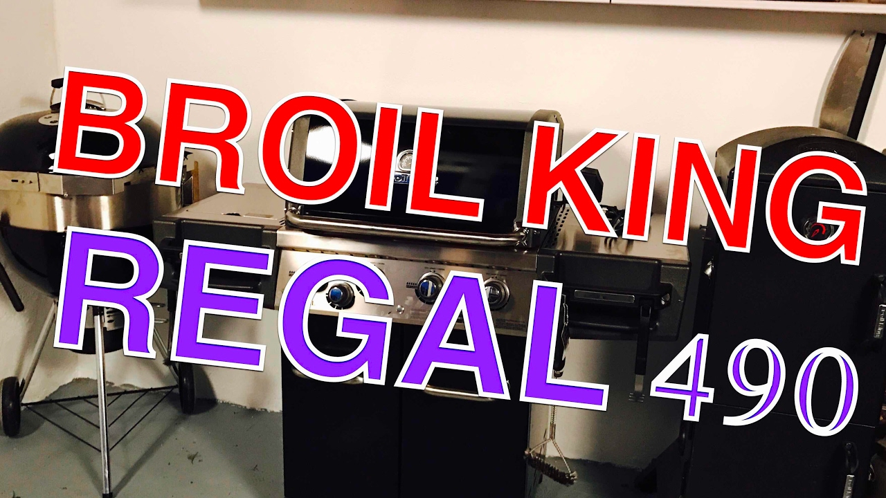 vorstellung broil king regal 490 gasgrill 2017 test klaus grillt youtube. Black Bedroom Furniture Sets. Home Design Ideas