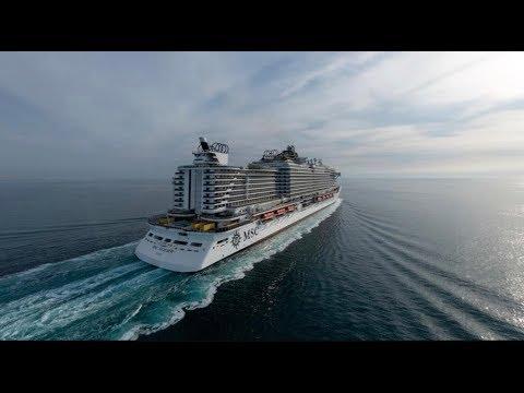 MSC Seaview inaugural journey June 2018 4K