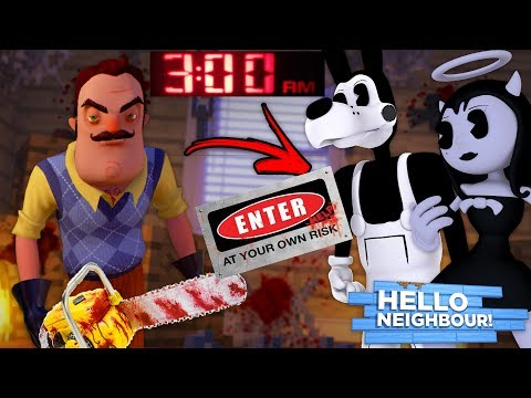 Minecraft DO NOT ENTER THE NEIGHBORS HOUSE AT 3 AM!! - SEE WHAT HAPPENS IN THE NEIGHBORS HOUSE!!!!