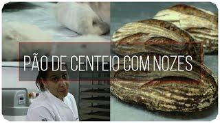 Pão de Centeio com Nozes | MASSA MADRE