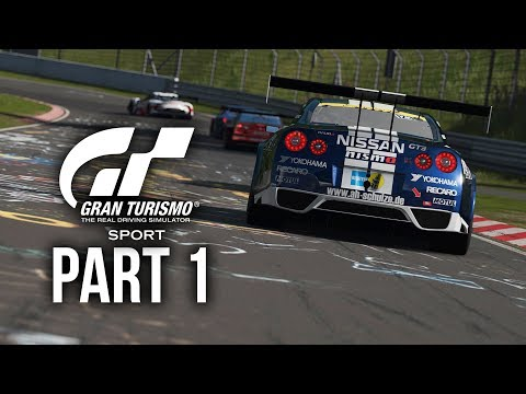 GRAN TURISMO SPORT Gameplay Walkthrough Part 1 - Driving Sch