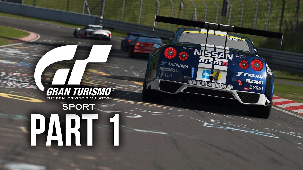 GRAN TURISMO SPORT Gameplay Walkthrough Part 1