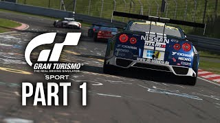 GRAN TURISMO SPORT Gameplay Walkthrough Part 1 - Driving School Gold (Full Game) 4K PS4 Pro