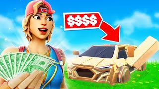 Whatever You Build, I'll Buy it challenge in Fortnite...