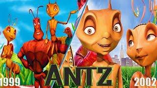 Evolution of Antz Games 1999-2002