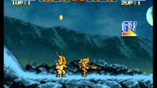 vivi同cici玩Metal Slug 3 part2