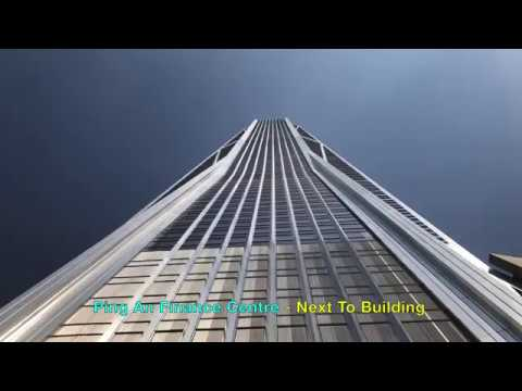 4th Tallest Skyscraper: Ping An Finance Centre (Observation Deck View: Free Sky)