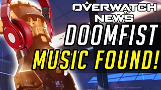 Overwatch - Doomfist NEW EVIDENCE! Hidden Music FOUND!