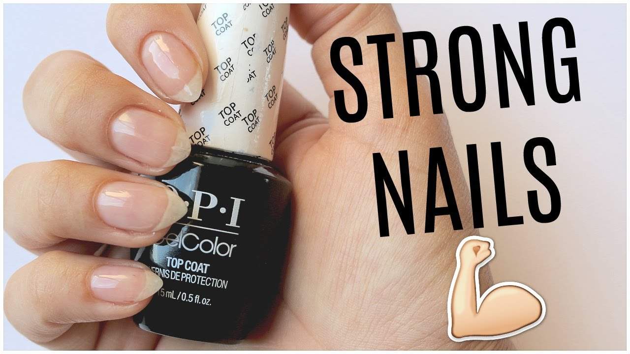 HOW TO KEEP YOUR NAILS STRONG | Banicured - YouTube