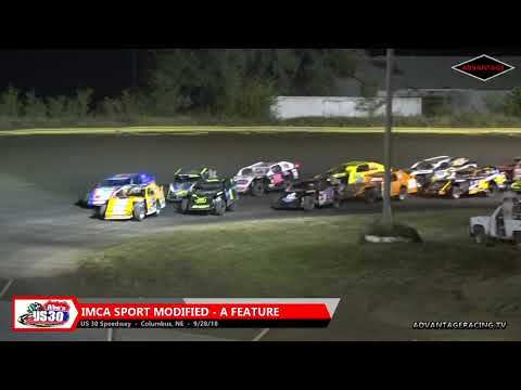 Sport Modified Features - US 30 Speedway - 9/28/18