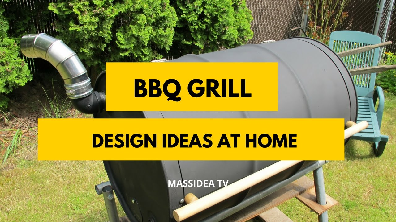 50+ Best BBQ Grill Design Ideas At Home 2017