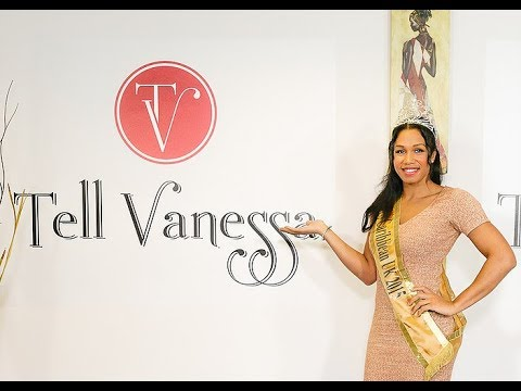 """Miss Caribbean UK - 2016 on the """"Tell Vanessa"""" show with Amy Harris"""