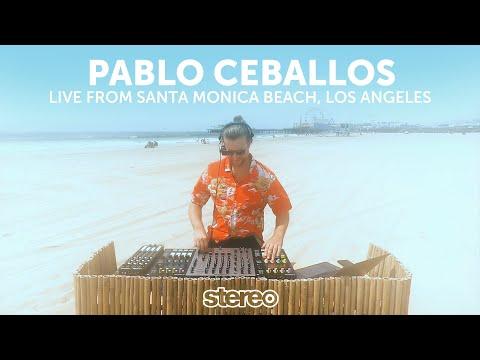 Pablo Ceballos Live From Santa Monica Beach, Los Angeles