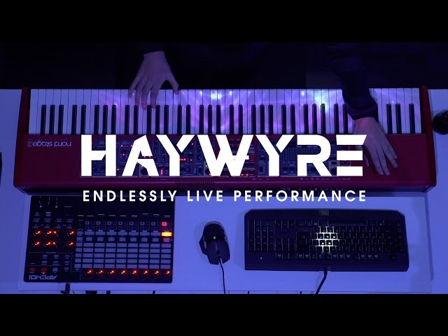 Haywyre - Endlessly (Live Performance) [Monstercat Release]