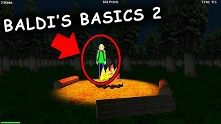 BALDI'S BASICS 2 - FIELD TRIP Horror Game (Baldi's Basics in Education and Learning Sequel)