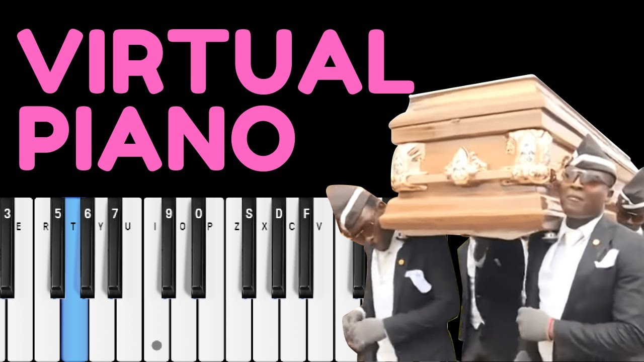 How To Play Coffin Dance On Virtual Piano Sheets Easy Youtube