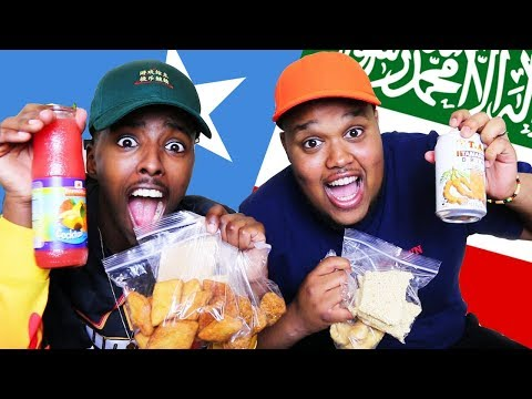BRITISH TRYING SOMALI CANDY!
