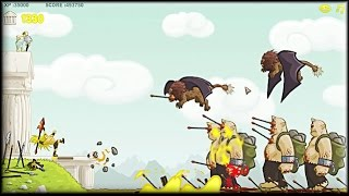 Clash of the Olympians - Game Walkthrough (spearman 1-20 lvl + boss fight)