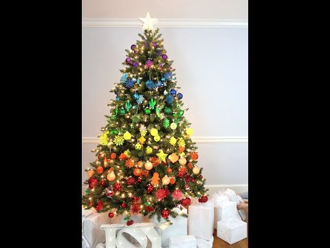 CHRISTMAS TREE DECORATING IDEAS PICTUREST 2017
