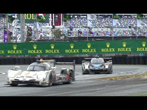 2017 Rolex 24 Race To The Finish