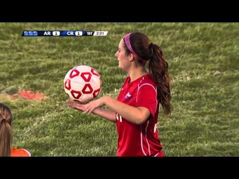 Girls Soccer: Armstrong at Coon Rapids 9/2/14 (Full Game)