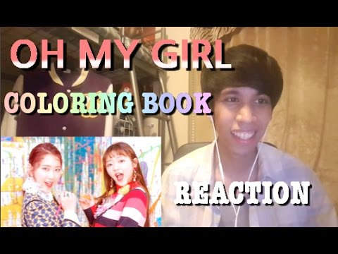 Oh my girl 39 coloring book 39 reaction can 39 t stop Coloring book lyrics oh my girl