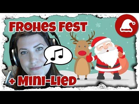 Türchen 24: Frohes Fest (mit Mini-Lied) | Annenymer Adventskalender