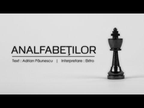 Ektro - Analfabeţilor [versuri Adrian Păunescu] | prod. Snar3