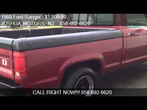 1989 Ford Ranger Reg Cab Short Bed 2wd For Sale In