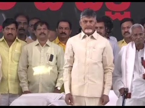 News 100: Chandrababu Naidu holds 12-hour fast in demand of special status to Andhra Pradesh