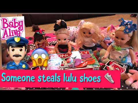BABY ALIVE Slumber Party Lulu's New Shoes